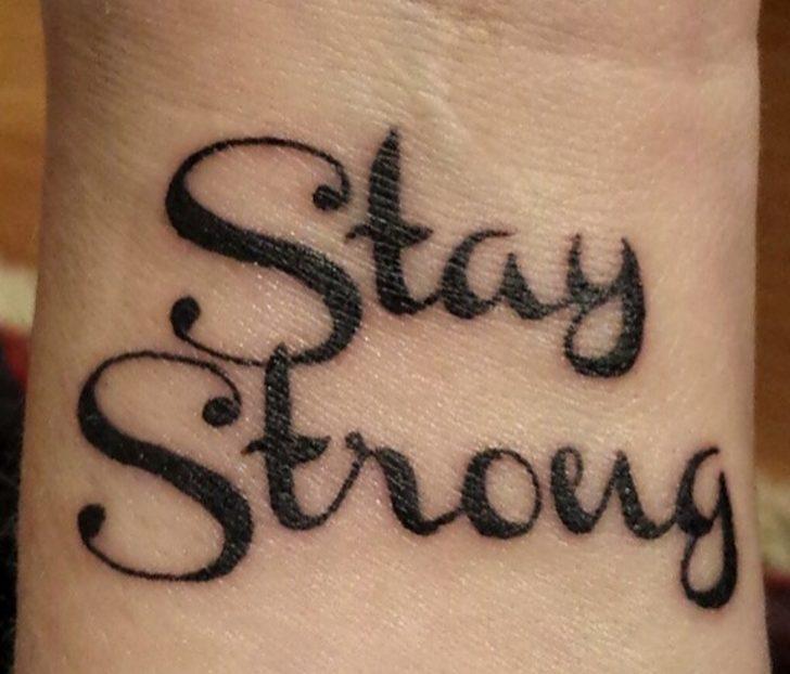 Yazılı Dövme Yaptırmak İsteyenlere İlham Olacak 22 Font Önerisi