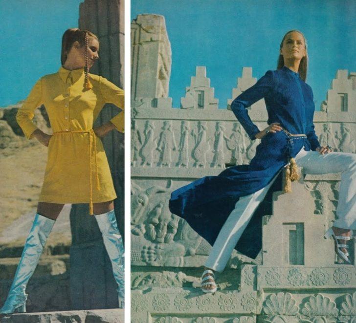 45 Yıl Önce İran Vogue'un Sayfaları Neye Benziyordu Görmek İster Misin?