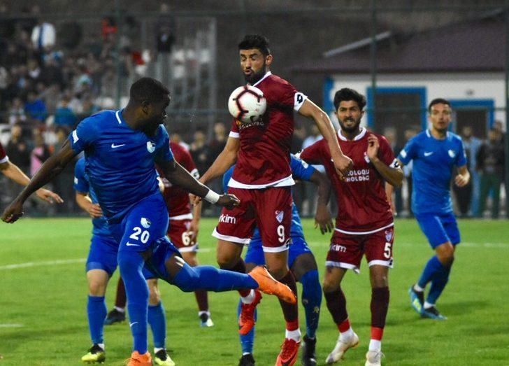 Büyükşehir Belediye Erzurumspor 3 - 1 Tetiş Yapı Elazığspor (Hazırlık maçı)