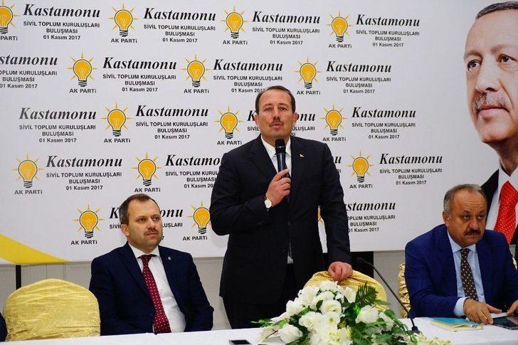 Ak Parti Genel Başkan Yardımcısı Karacan, Stk Temsilcileriyle Bir Araya Geldi