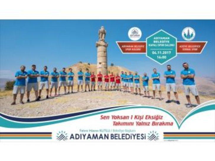 Belediyespor Aziziye Termal Spor Maçına Hazırlanıyor