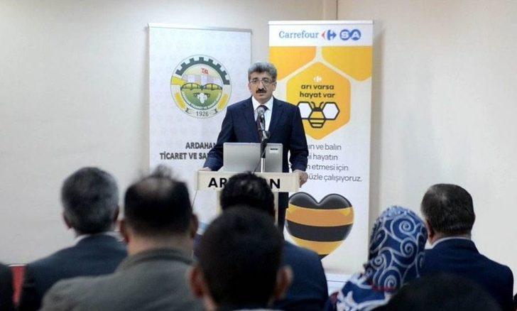 Ardahan'da Arıcılara Eğitim Semineri Verildi
