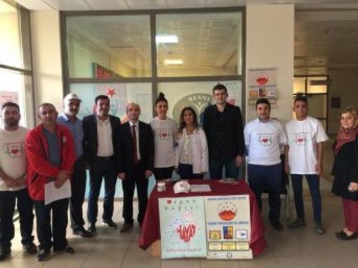 Besni'de Organ Bağışı Standı