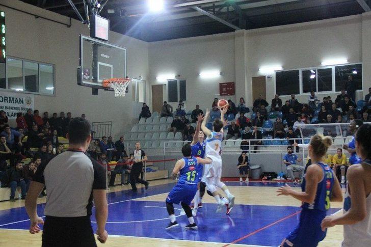 Türkiye Kadınlar Basketbol Ligi: Elazığ İl Özel İdare: 68 - Edremit Belediye Gürespor: 63