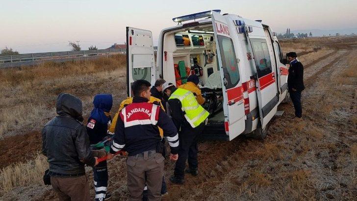 Ankara-aksaray Yolunda Otobüs Kazası;3 Yaralı