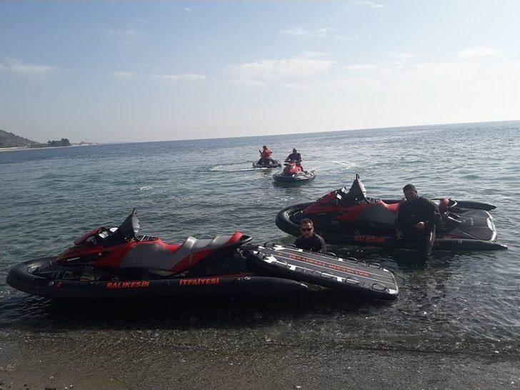 Balıkesir İtfaiyesinde Jet Skiler Göreve Başladı