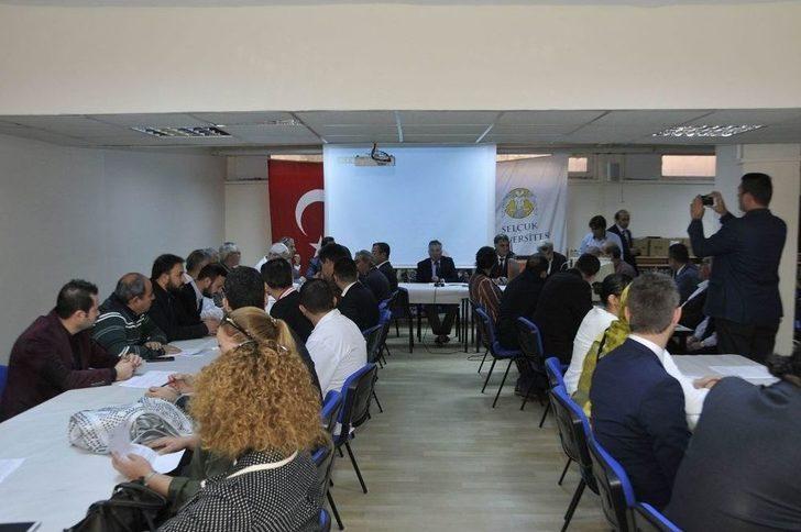 Selçuk Üniversitesi Teknik Bilimler Myo Akademik Kurul Toplantısı Yapıldı
