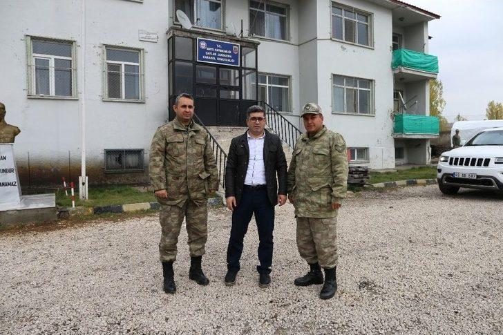 Kaymakam Çetin'den Jandarmaya Ziyaret