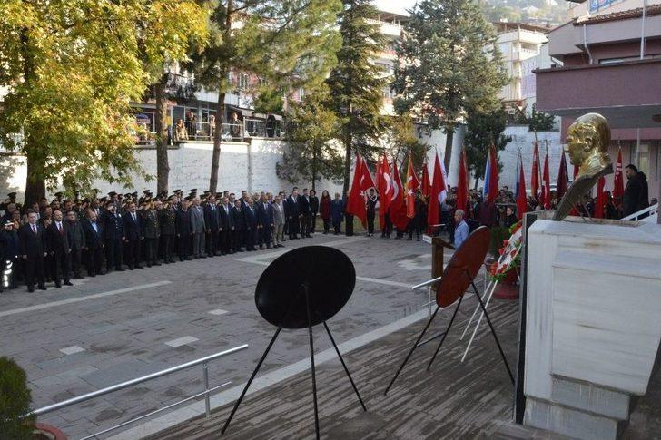Niksar'da 10 Kasım Atatürk'ü Anma Töreni