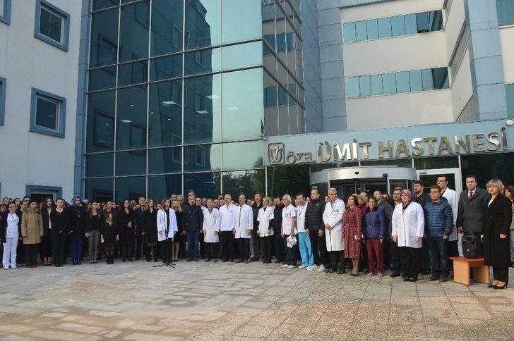 Özel Ümit Hastanelerinde Atatürk'ü Anma Programı
