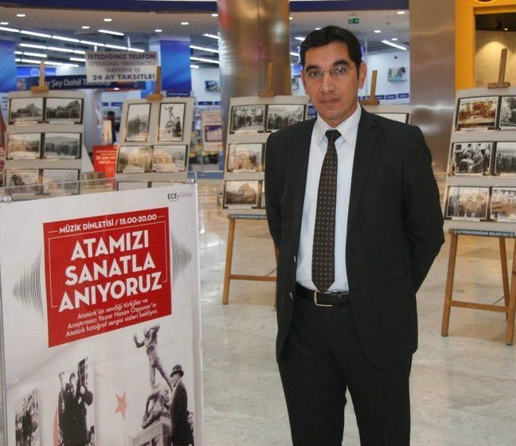 """Atatürk'ün """"afyonkarahisar Ziyaretleri"""" İsimli Fotoğraf Sergisi Açıldı"""