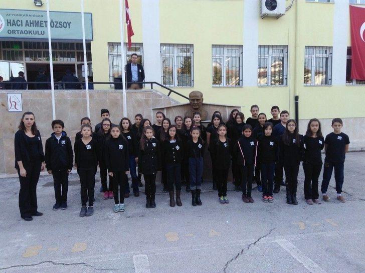 Afyonkarahisar'daki Okullarda 10 Kasım Törenleri