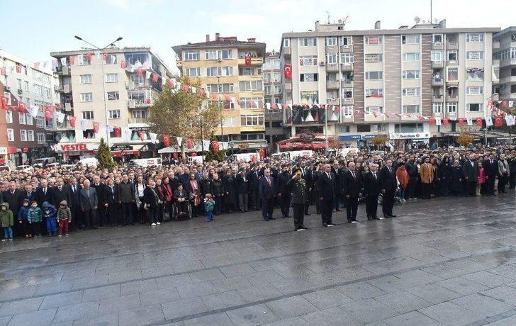 Mustafa Kemal Atatürk Çorlu'da Törenle Anıldı