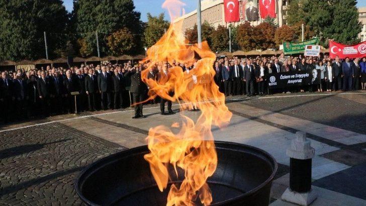 Gaziantep'te 10 Kasım Anma Töreni