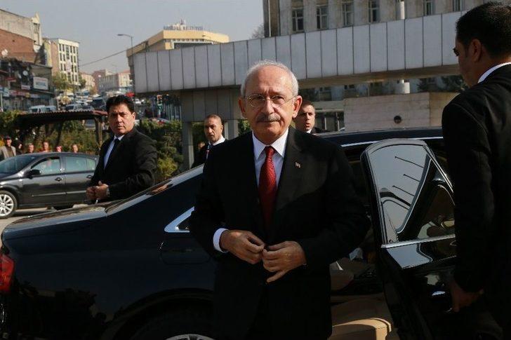 Kktc Cumhurbaşkanı Akıncı İle Kılıçdaroğlu'ndan Baykal'a Ziyaret