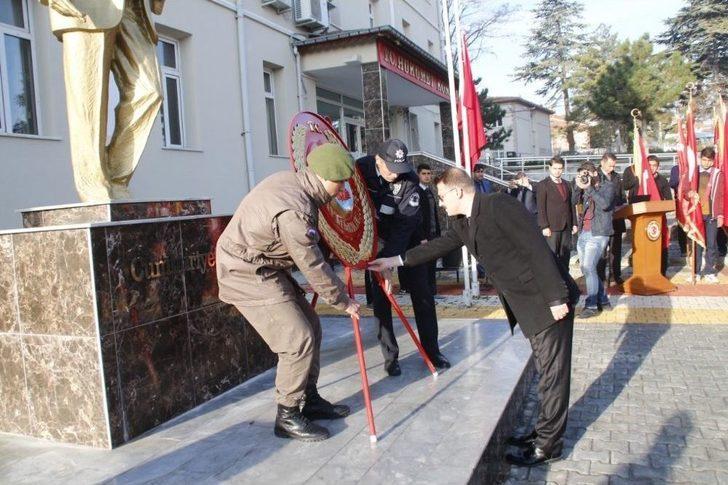 Yunak'ta Ölümünün 79. Yılında Atatürk Törenle Anıldı