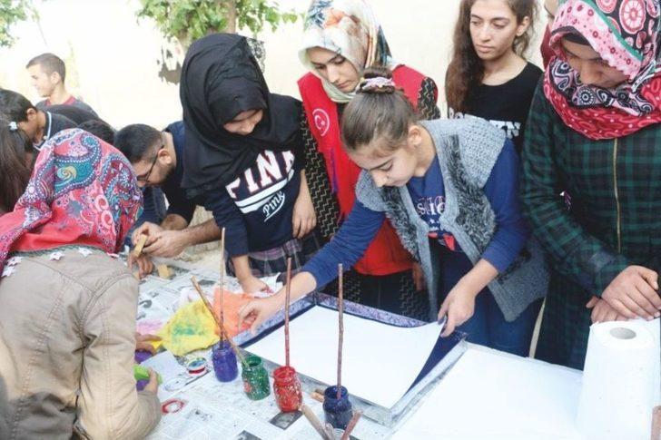 Gençlik Merkezi Gençleri Ortaokul Öğrencileriyle Bir Araya Geldi