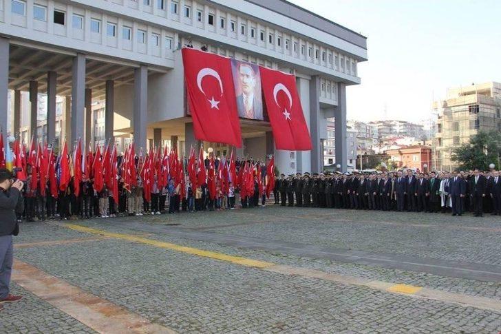 Giresun'da 10 Kasım Atatürk'ü Anma Günü Etkinlikleri