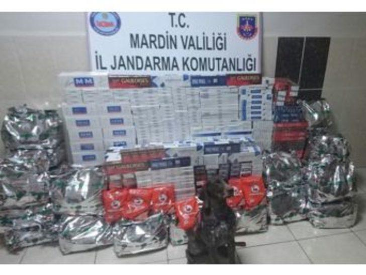 Kızıltepe'de 98 Bin 200 Paket Kaçak Sigara Ele Geçirildi