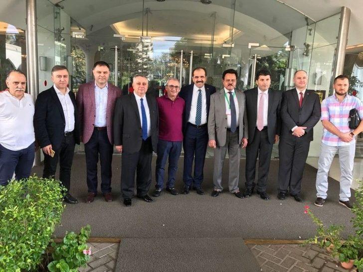 Trabzon Heyeti Pakistan Expo 2017 Fuarı'nda