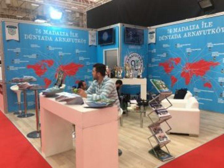 Spor Fuarındaki Arnavutköy Belediyesi Standına Yoğun İlgi