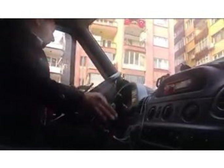 Minibüs Şoförü Yolcuların Canını Hiçe Saydı