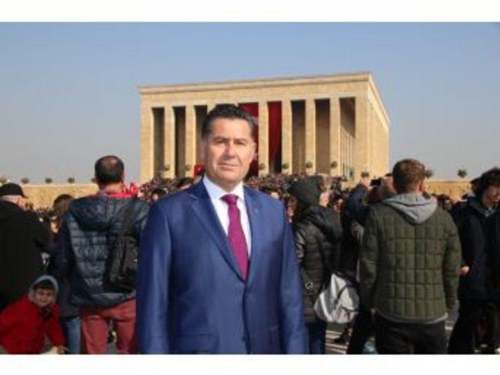 Başkan Mehmet Kocadon 10 Kasım'da Ata'nın Huzurunda