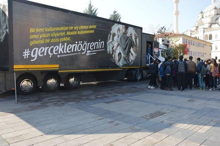 'hedef Olma Hedefsiz Kalma Eğitim Tırı' Kırıkkale'de