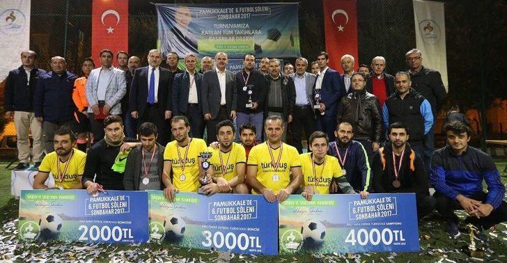 Pamukkale Futbol Turnuvası Sona Erdi