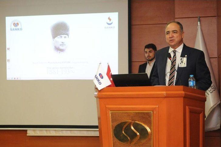 Atatürk, Sanko Üniversitesi Ve Özel Sani Konukoğlu Hastanesinde De Törenle Anıldı