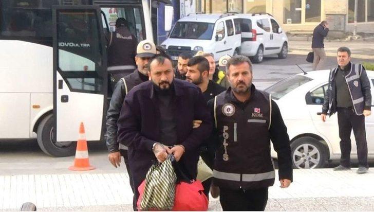 Çorum'da Suç Örgütüne Polis Baskını