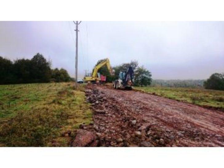 İzmit'in Köy Yolları Yenileniyor