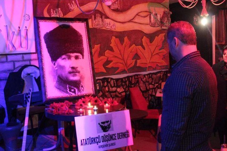 Kırşehir'de Atatürk'ü Anma Programı
