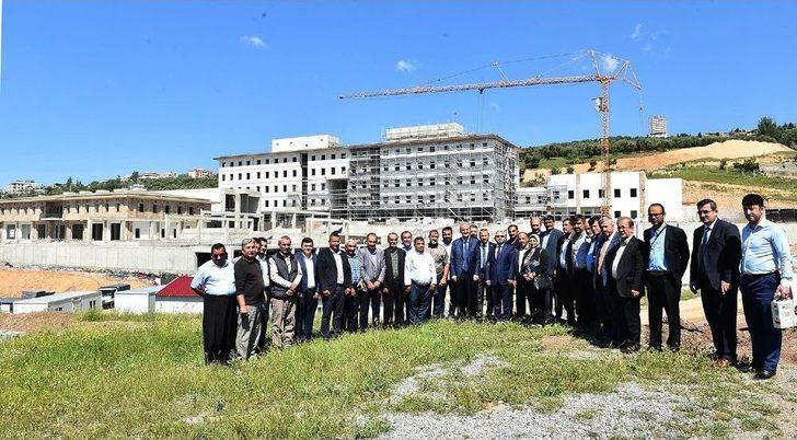 Başkan Okay'dan Mahalle Temsilcilerine Dulkadiroğlu Turu