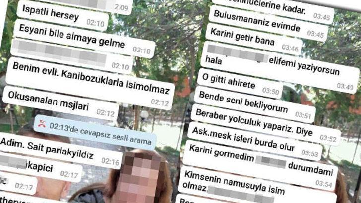 Kocaeli'nin Darıca ilçesinde Sait Parlakyıldız yasak aşk şüphesiyle eşini katletti! Mesajlar ortaya çıktı