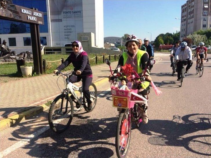 Bisiklet Turu İle Stres Attılar