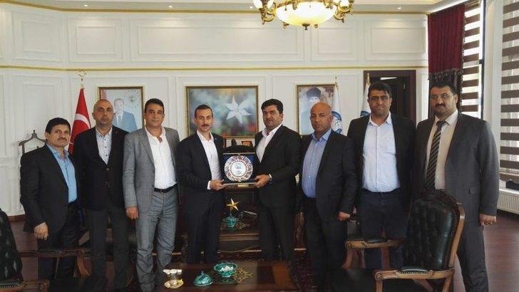 Başkan Erbenzer'den Atıf Çiçekli'ye Ziyaret