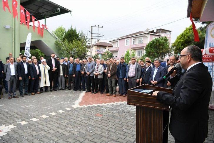 Kartepe, Tepecik Camii'nin Şadırvanı Tamamlandı