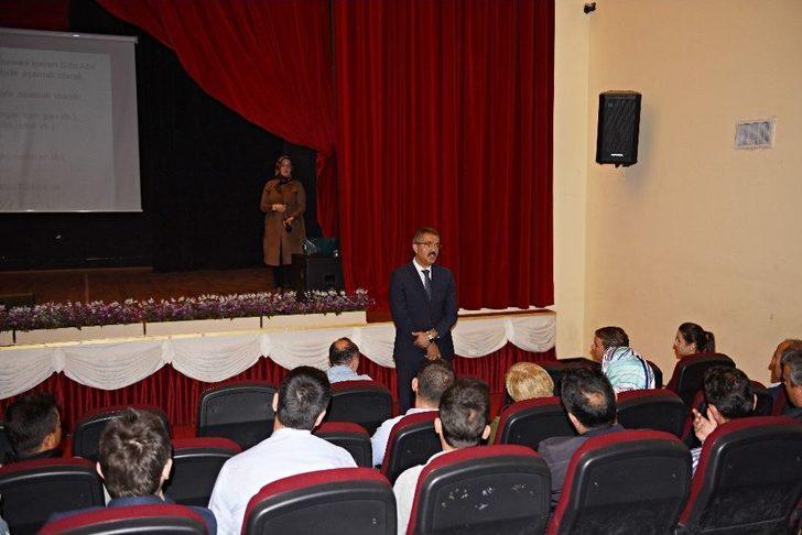 Turhal'da Sıfır Atık Projesi Eğitimleri Devam Ediyor