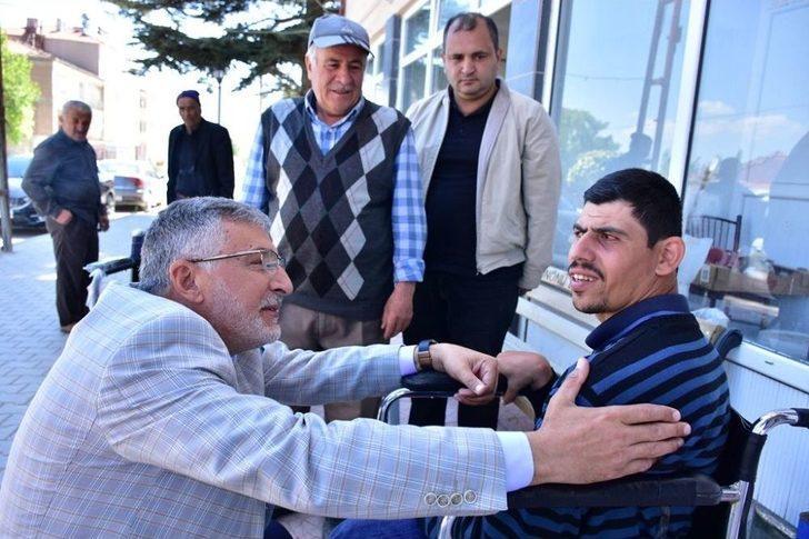 Engelli Bireyin Talebi Belediyeyi Seferber Etti