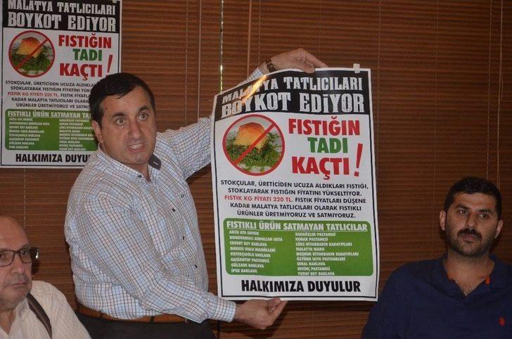 Fıstığa Bir Boykot Da Malatya'dan
