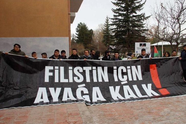 Sivas, Tokat Ve Yozgat'ta 'kudüs' Protestosu