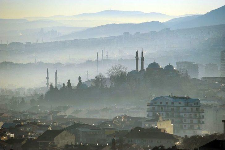 Bursa'da Hava Kirliliği Dünya Sağlık Örgütü Değerlerinin 5 Katı
