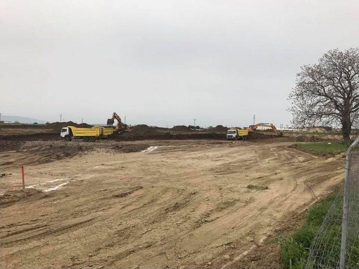 Tekirdağ Şehir Hastanesi İnşaatı Başladı