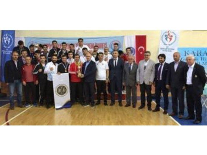 Atatürk Üniversitesi Boks Takımı Türkiye Şampiyonu