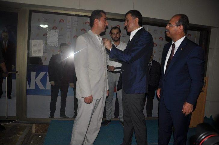 Saadet Partisi Kadirli İlçe Başkanı İstifa Ederek Ak Parti'ye Geçti