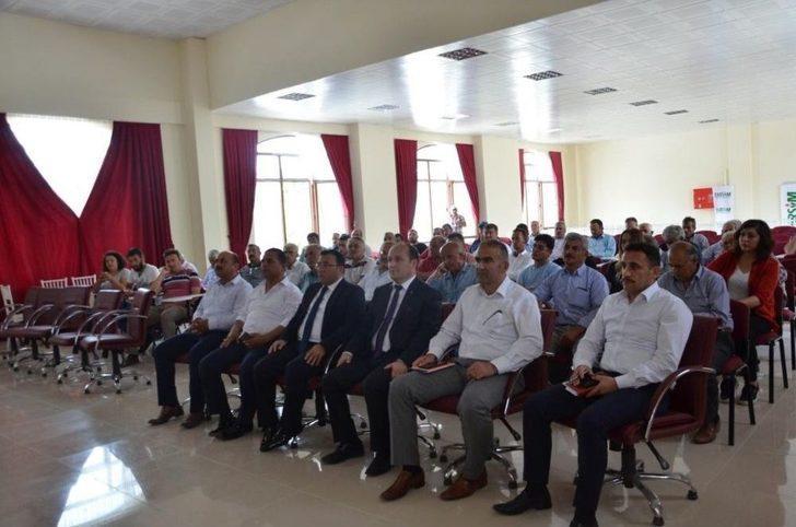 Tarsim, Çal'da Üreticileri Yönelik Tanıtım Ve Bilgilendirme Toplantısı Yaptı