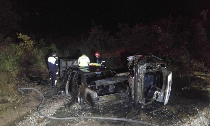 Tunceli'de Kaza Sonrası İki Araç Yandı, 4 Kişi Yaralandı