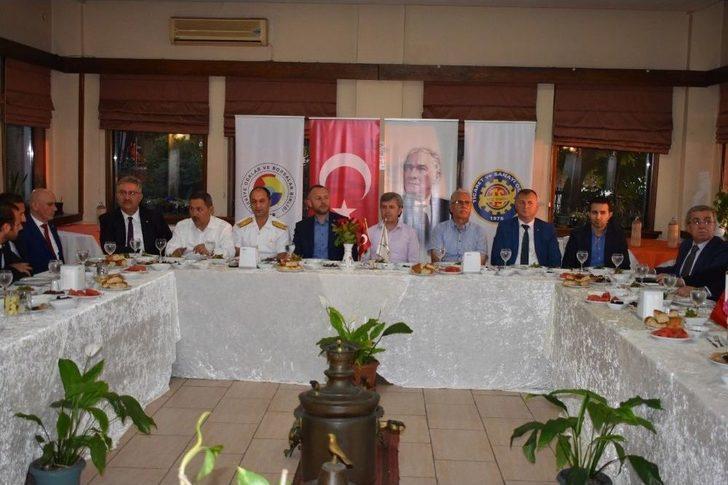 Kdz Ereğli Tso Yönetimi İftarda Protokolle Buluştu