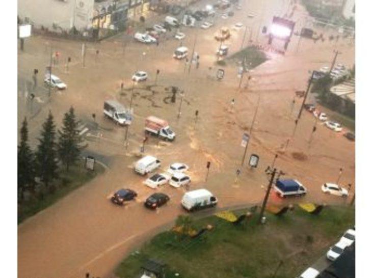 Kahramanmaraş'taki Sel Felaketi Kamerada